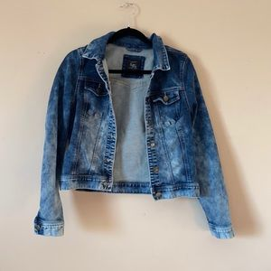 Cotton On Dark to Light Wash Ombre Jean Jacket